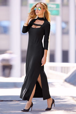 Travel cutout maxi dress