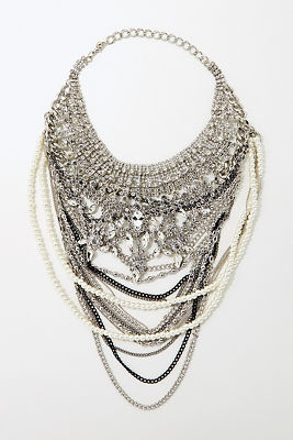 Over-the-top crystal necklace