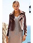 Velvet Moto Jacket Photo
