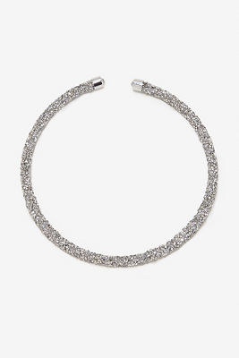 Sparkle choker necklace