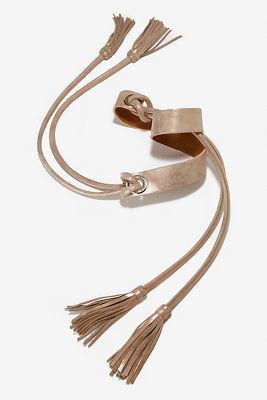 Tassel wrap belt