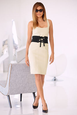 Sleeveless corset dress