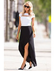 Travel Colorblock Maxi Dress Photo