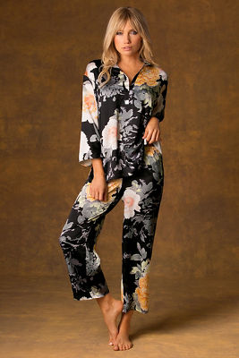 Floral sleep pajama set