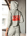 Love Zip-front Hoodie Photo