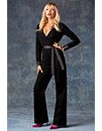 Velvet Tuxedo Jumpsuit Photo