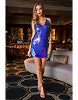 Paillette Sequin Knit Tank Dress Photo