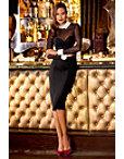 Illusion Tuxedo Dress Photo