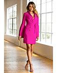 Pleated Sleeve Suit Dress Photo