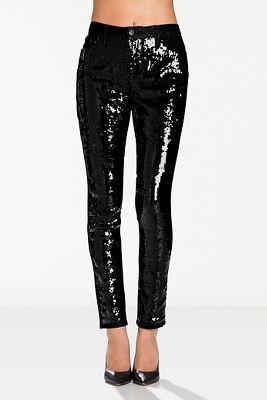 Sequin jean
