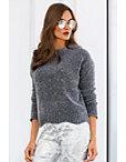 Metallic Chenille Sweater Photo