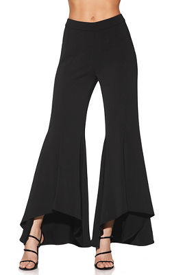 Display product reviews for Hi-lo ruffle pant