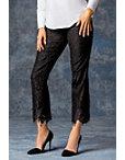 Lace Tuxedo Stripe Pant Photo