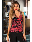 Floral Blooms Lace Top Photo