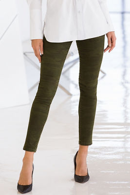 camo skinny ankle pant