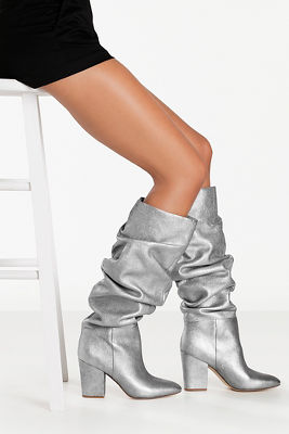 Glitter Slouch Boot