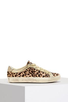 Animal print sneaker