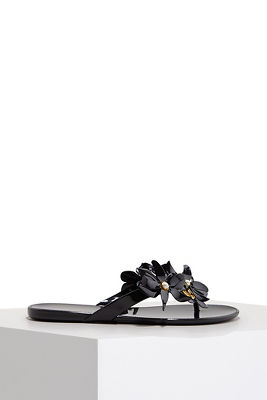 floral jelly sandal