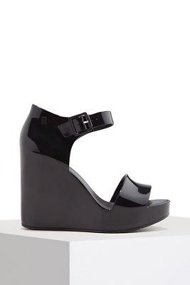 ankle buckle wedge heel