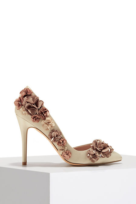 Ombre flower pump image