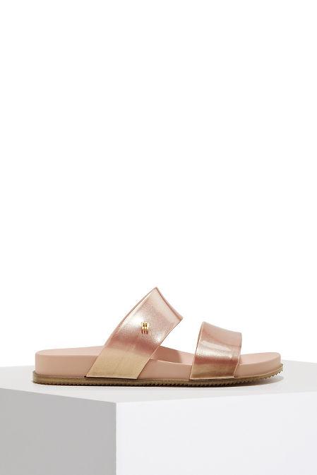 Double strap slide sandal image