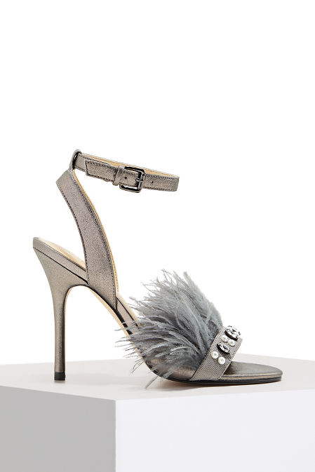 Feather detail heel image
