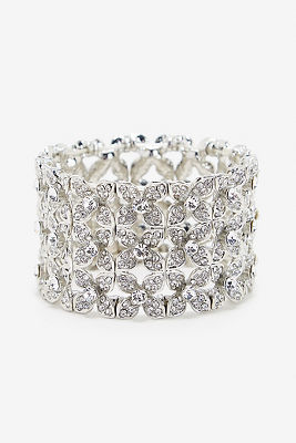 Crystal stretch bracelet
