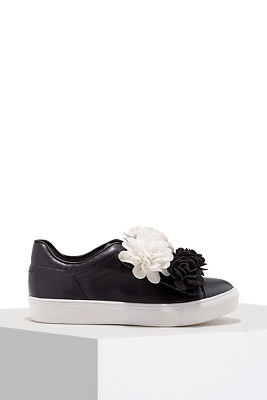 Floral slip-on sneaker