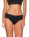 Shirred Banded Hipster Swim Bottom Photo