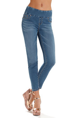 Display product reviews for Nora skinny ankle pull-on jean