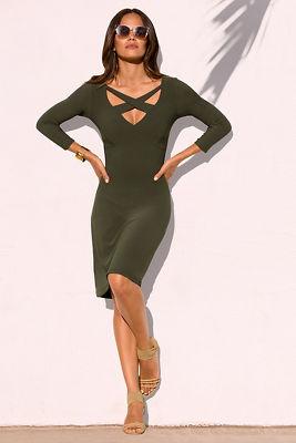 Beyond travel™ crisscross dress