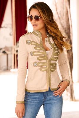 Soutache shimmer jacket