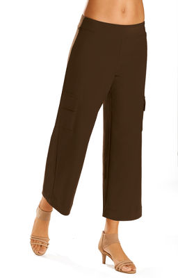 beyond travel™ cargo crop pant