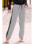 Striped Straight-leg Track Pant Photo