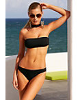 Choker Bandeau Two-piece Bikini Photo