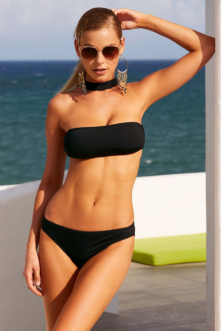 Choker Bandeau Two Piece Bikini Boston Proper