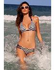 Chevron Halter Bikini Photo