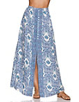 Paisley Print Maxi Skirt Photo