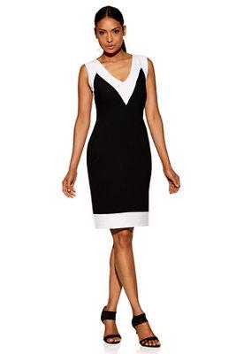 Beyond travel&#8482 sleeveless colorblock dress