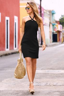 Beyond travel™ halter dress