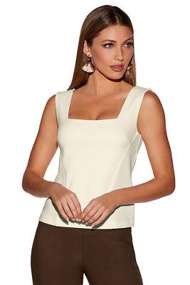 Beyond travel™ sleeveless shell top