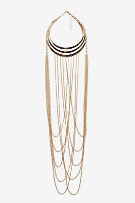Body chain choker necklace
