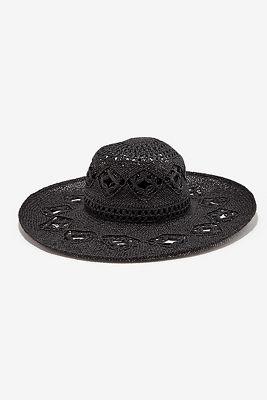 Spring woven beach hat