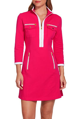 Chic zip sport dress