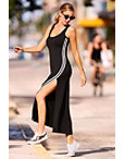 Racer Stripe Tank Sport Maxi Dress Photo