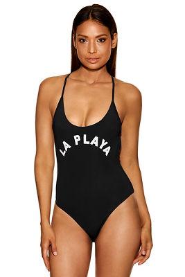 la playa one-piece swimsuit