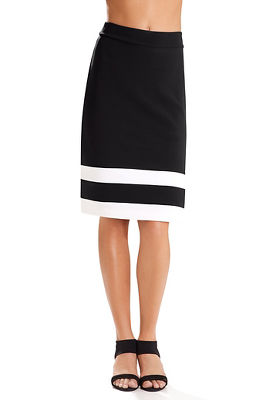 Beyond travel™ colorblock skirt