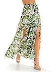 Floral Blooms Maxi Skirt Photo