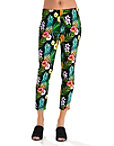 Noir Tropical Side Zip Capri Pant Photo