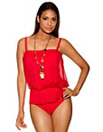 Tulle One-piece Swimsuit Photo